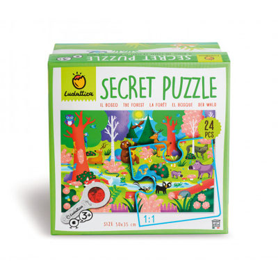 Secret puzzle la Forêt 24 P - 15,50 €