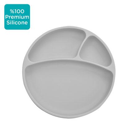 """<FONT size=""""5pt"""">Assiette anti-dérapante gris - <B>19,90 €</B> </FONT>"""