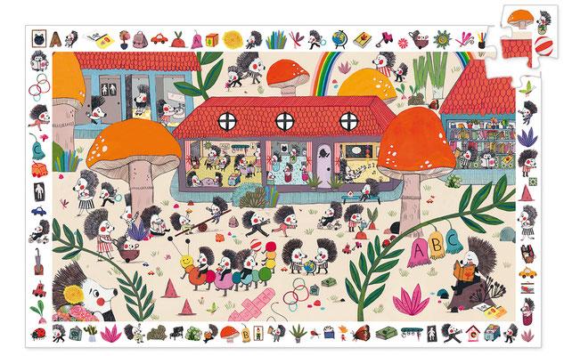 Puzzle Observation 35P L'Ecole des Hérissons - 12,90 €