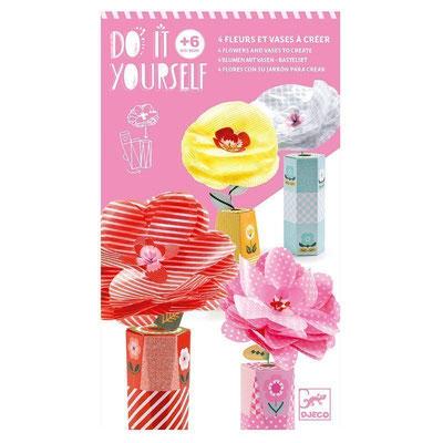 "<FONT size=""5pt"">DIY Fleurs et vases  - <B>10,50 €</B> </FONT>"