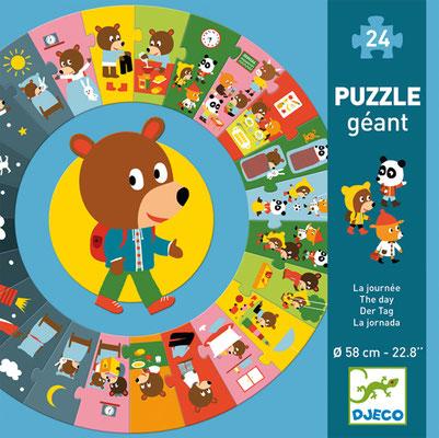 """<FONT size=""""5pt"""">Puzzle géant La Journée - <B>14,50 €</B> </FONT>"""