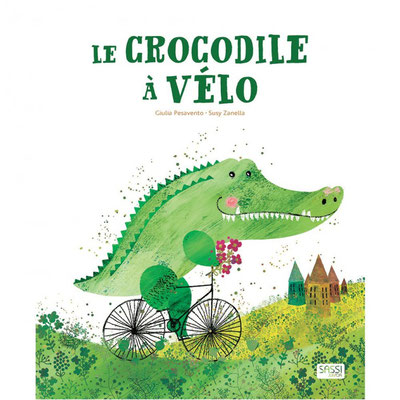 """<FONT size=""""5pt"""">Le Crocodile à vélo - <B>13,90 €</B> </FONT>"""