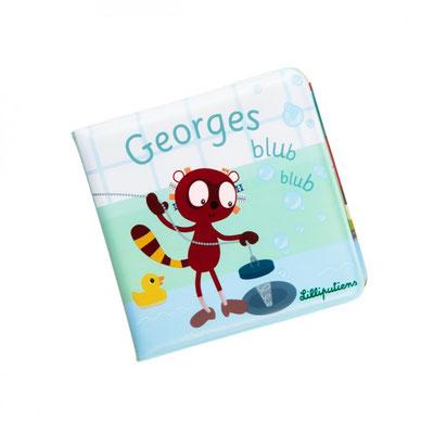 """<FONT size=""""5pt"""">Livre de bain Georges - <B>11,50 €</B> </FONT>"""