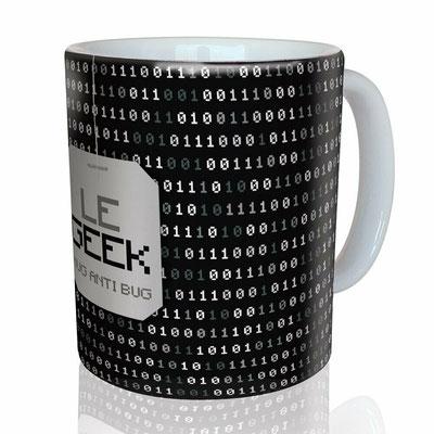 "<FONT size=""5pt"">Mug ""Le Geek"" - <B>12,00 €</B> </FONT>"