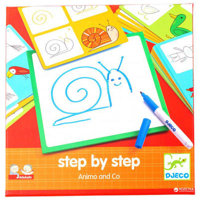"<FONT size=""5pt"">Step by Step Animals - <B>11,50 €</B> </FONT>"