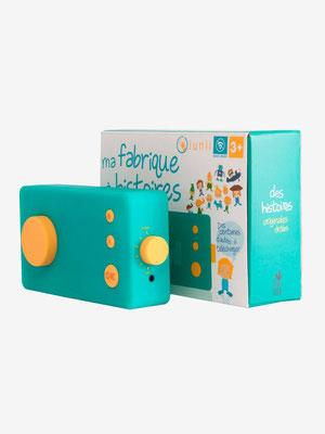"""<FONT size=""""5pt"""">Fabrique à histoires Lunii - <B>61,00 €</B> </FONT>"""