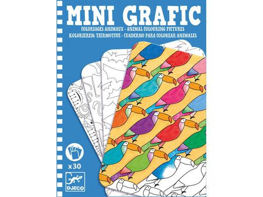 """<FONT size=""""5pt"""">Mini grafic animaux - <B>5,50 €</B> </FONT>"""