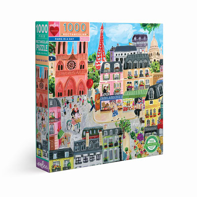 Puzzle Paris in a day - 23,90 €