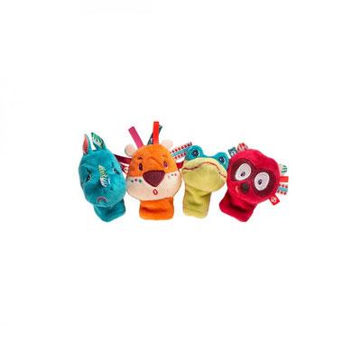 """<FONT size=""""5pt"""">Marionettes à doigts Jungle - <B>21,50 €</B> </FONT>"""