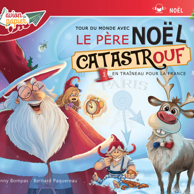 """<FONT size=""""5pt"""">Le Père Noël Catastrouf - <B>3,00 €</B> </FONT>"""