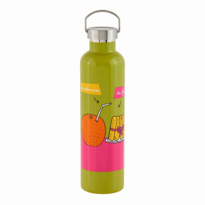 Bouteille isotherme 1000 ml Famille - 26,00 €
