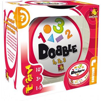 """<FONT size=""""5pt"""">Dobble Chiffres et Formes - <B>13,50 €</B> </FONT>"""