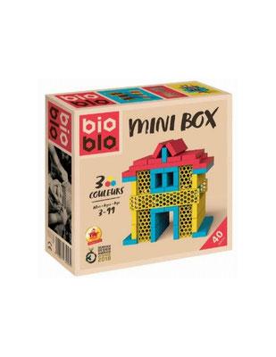 """<FONT size=""""5pt"""">Mini Box Jaune Rouge Bleu 40 B - <B>20,90 €</B> </FONT>"""