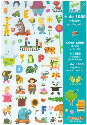 """<FONT size=""""5pt"""">1000 stickers pour les petits - <B>12,50 €</B> </FONT>"""