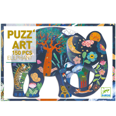 "<FONT size=""5pt"">Puzz'art Elephant 150P - <B>14,50 €</B> </FONT>"