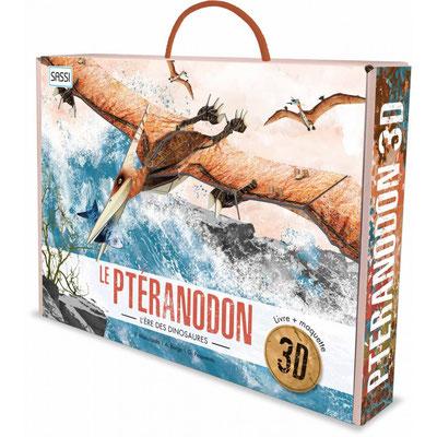Le Ptéranodon 3D livre+maquette - 18,90 €