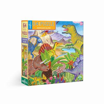 Puzzle L'Ile aux dinosaures - 13,00 €