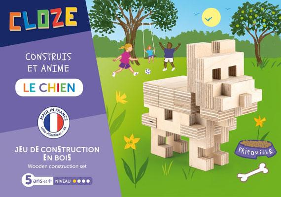 """<FONT size=""""5pt"""">Kit créatif Le chien - <B>13,50 €</B> </FONT>"""
