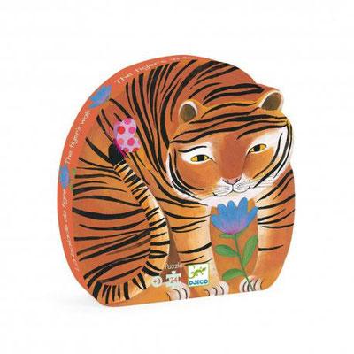 """<FONT size=""""5pt"""">Puzzle La ballade du tigre 24P - <B>13,00 €</B> </FONT>"""