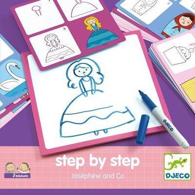 "<FONT size=""5pt"">Step by step Josephine - <B>11,50 €</B> </FONT>"