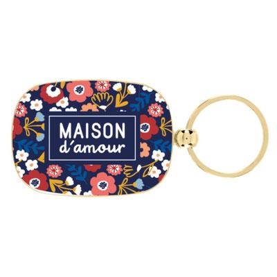 """<FONT size=""""5pt"""">Portes-clès Maison d'amour - <B>7,00 €</B> </FONT>"""