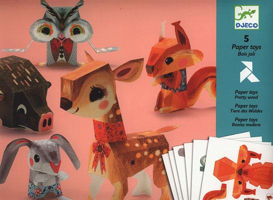 """<FONT size=""""5pt"""">Paper Toys Bois Joli - <B>6,50 €</B> </FONT>"""