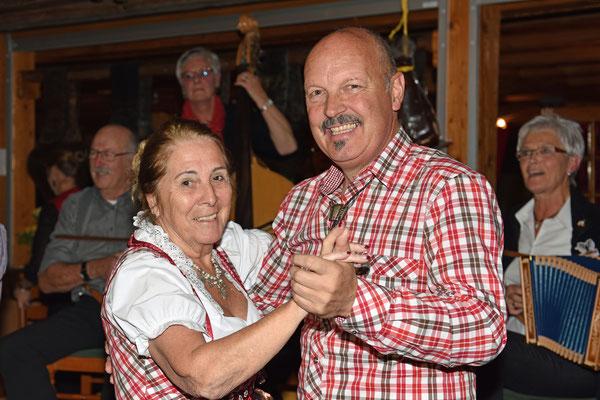 17.10.2015 / 30e anniversaire de la section / Sonja et Tony (Haut-Valais)