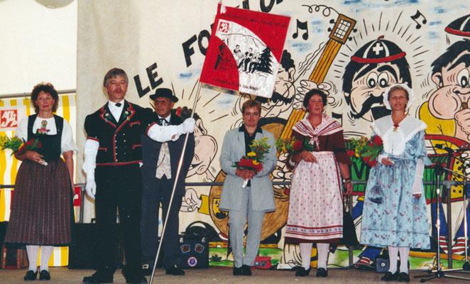 1999 Inauguration de la bannière au Peu-Péquignot