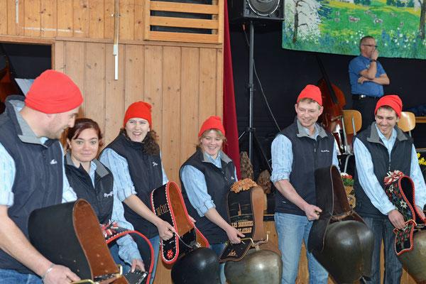 02.02.2014 / Stubete Nods / Les sonneurs de toupins du plateau de Diesse / Photo: Claude Sunier
