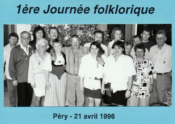 1996 Première journée folklorique à Péry
