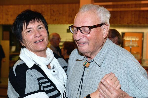 AG 2013 / Claude, membre d'honneur VD et Michèle Kaltenrieder / Photo 19.01.2013