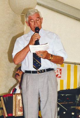1999 Le vice-président du comité cendral Manfred Klossner