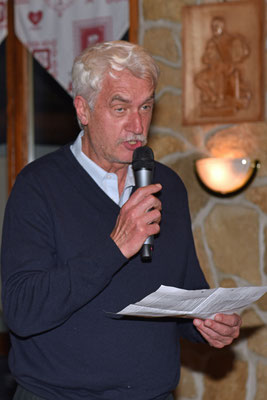 17.10.2015 / 30e anniversaire de la section / Cipriano, président du comtié central