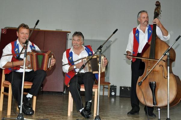 03.10.2010, Dimanche folklorique, Charmoille, Antoine Flück et ses amis / Le Peupéquignot