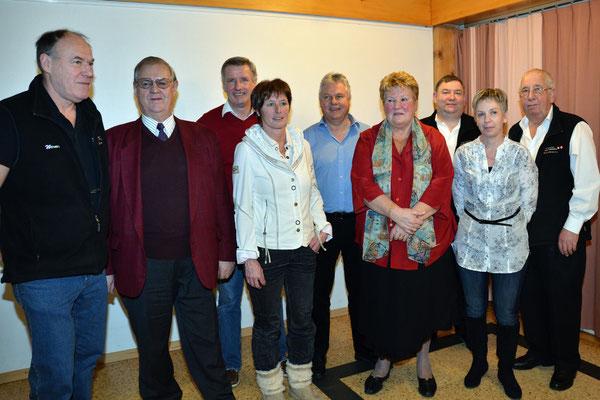 Comité 2012 avec les délégués des sections et du comité central