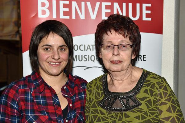 2016.01.16 / Alessia et Jacqueline élues au comité
