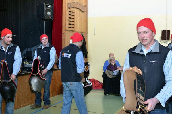 Stubete Nods / 05.02.2012/ Sonneurs de cloches du plateau de Diesse