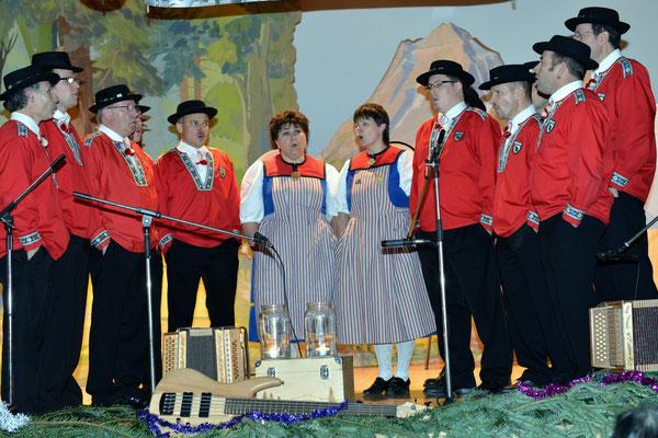 20e Noël folklorique de Cortébert / Jodlerclub de Cordast (FR) / 26.12.2012