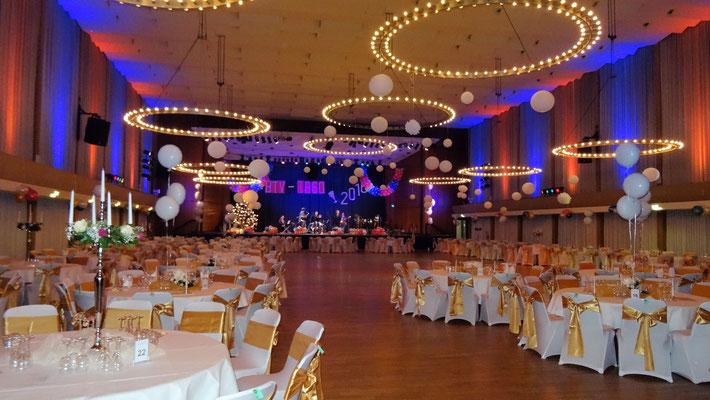 Großer BTV Silvester Ball 2016, Stadthalle Bad Godesberg