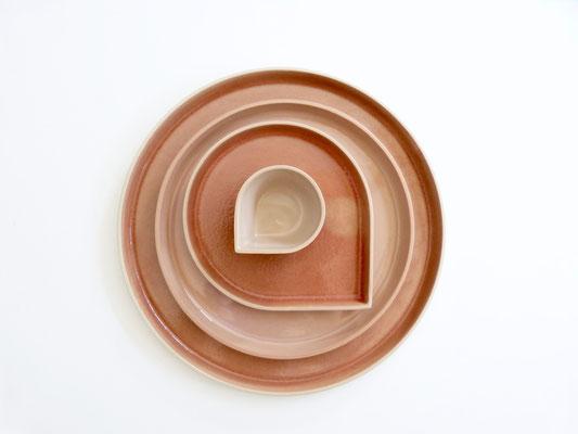 OnA tableware summer collection  UM20 limited by ilona van den bergh ceramics