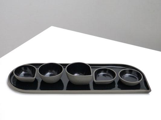 OnA, tableware by belgian ceramist ilona van den bergh