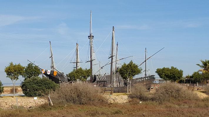 Schiffsnachbauten von Kolumbus