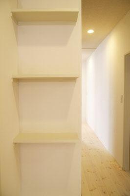 戸建住宅 リノベーション工事 工事完了 飾り棚