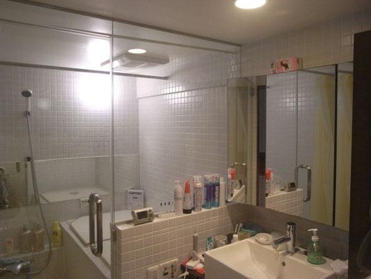 マンションリノベーション 施工後 浴室