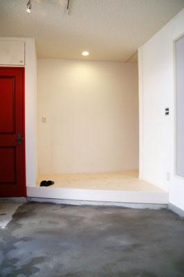 戸建住宅 リノベーション工事 工事完了 玄関たたき