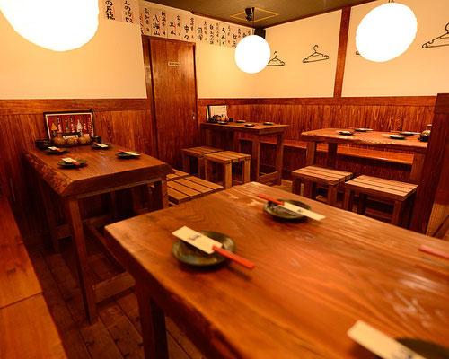 逢坂の蔵 新大阪 テーブル席