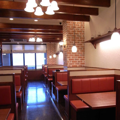 神戸洋食屋 どれみ軒 インテリア