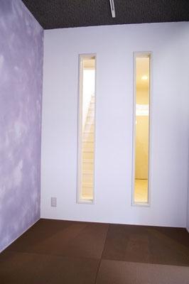 戸建住宅 リノベーション工事 工事完了 あかりとり窓