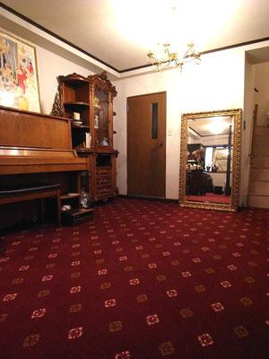 プチ リフォーム 床にタイルカーペット 高質品