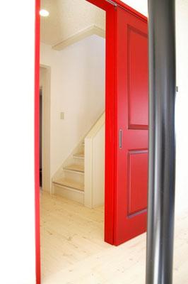 戸建住宅 リノベーション工事 工事完了 室内ドア